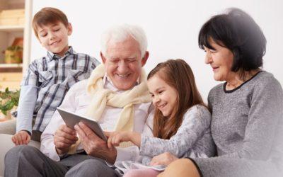 Quanto sono giovani i nonni moderni!